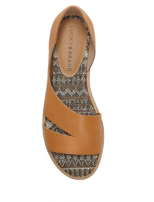 FELICITAS FLAT, RUST BROWN