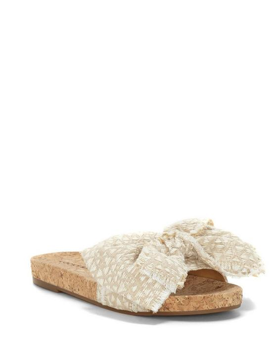 FLOELLA SLIDE SANDAL, MEDIUM BEIGE, productTileDesktop