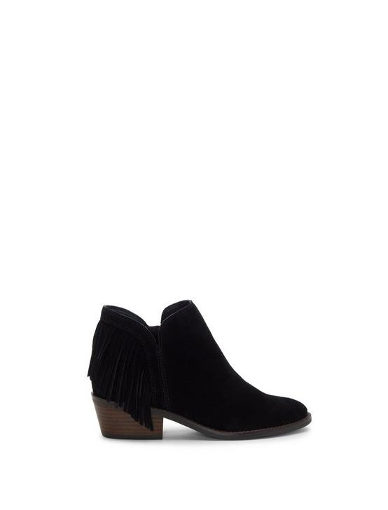 FREEDAH SUEDE BOOTIE, BLACK, productTileDesktop