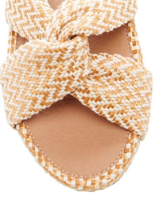 FYNNA SANDAL, DARK YELLOW