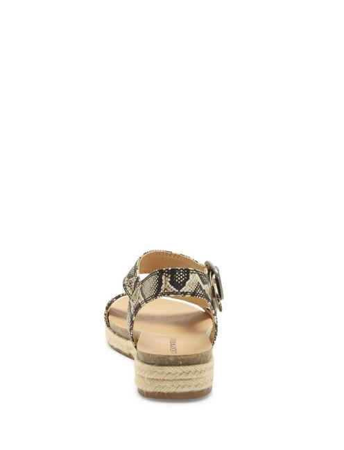 GABRIEN LEATHER SANDAL, MEDIUM BEIGE