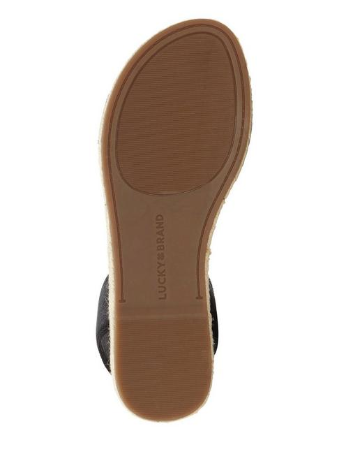 GARSTON LEATHER SANDAL, FEATHER
