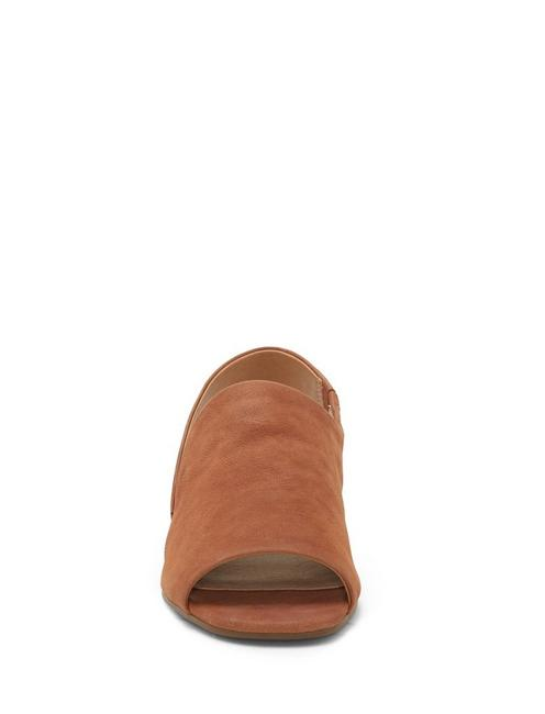 GEORGETA FLAT, LIGHT BROWN