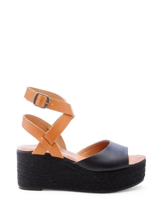 GINNY WEDGE, BLACK, productTileDesktop