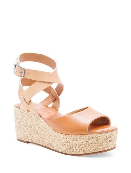 GINNY WEDGE, LIGHT BROWN, productTileDesktop