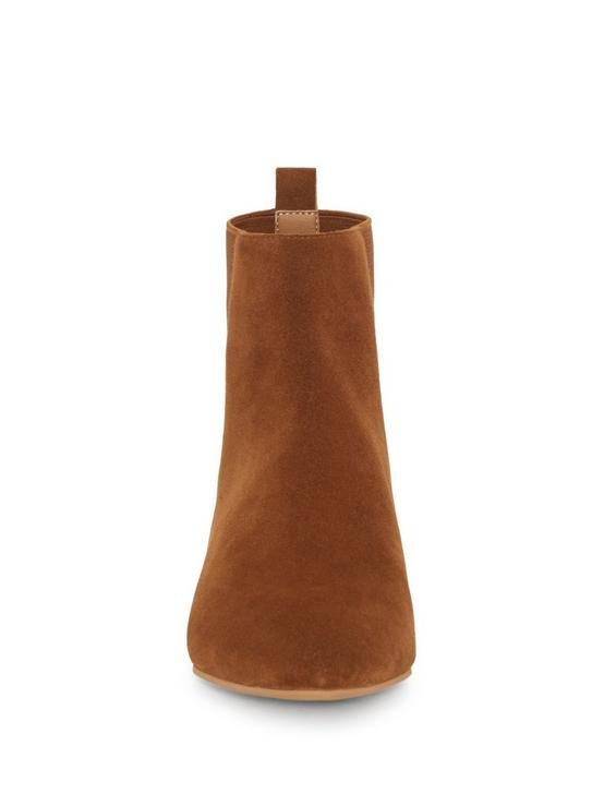 GLELDO SUEDE BOOTIE, OPEN BROWN/RUST, productTileDesktop