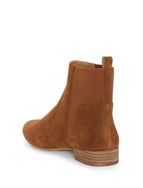 GLELDO BOOTIE, OPEN BROWN/RUST