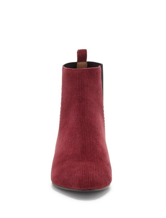 GLELDO SUEDE BOOTIE, LIGHT RED, productTileDesktop