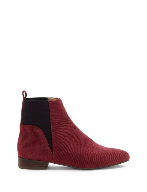 GLELDO BOOTIE, LIGHT RED