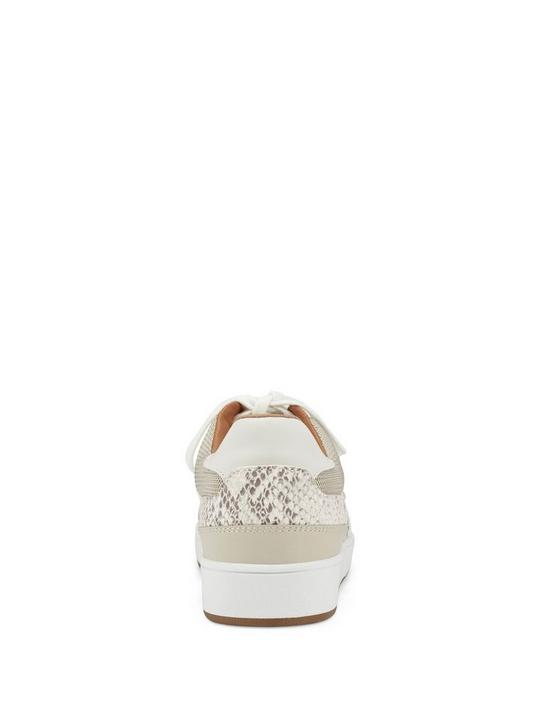 HIGH TOP SNAKE SNEAKER, MEDIUM LIGHT BEIGE, productTileDesktop