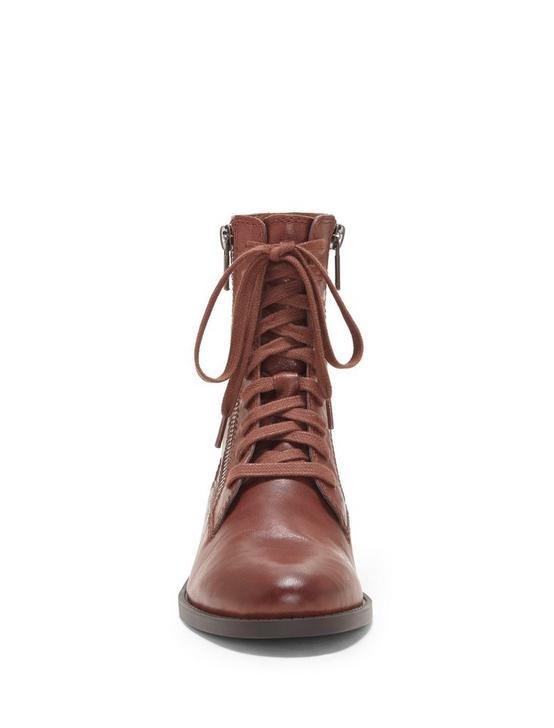 HILDRAN BOOTIE, LIGHT BROWN, productTileDesktop
