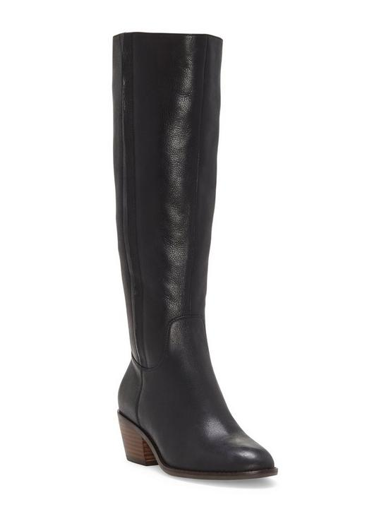 ISCAH LEATHER BOOT, BLACK, productTileDesktop