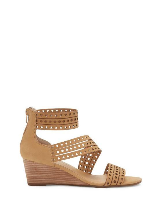 JALEELA WEDGE, OPEN BEIGE/KHAKI, productTileDesktop