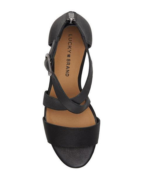 JENLEY WEDGE, BLACK