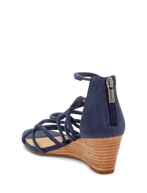 JILSES WEDGE, DARK BLUE