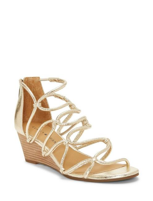 JILSES WEDGE, GOLD