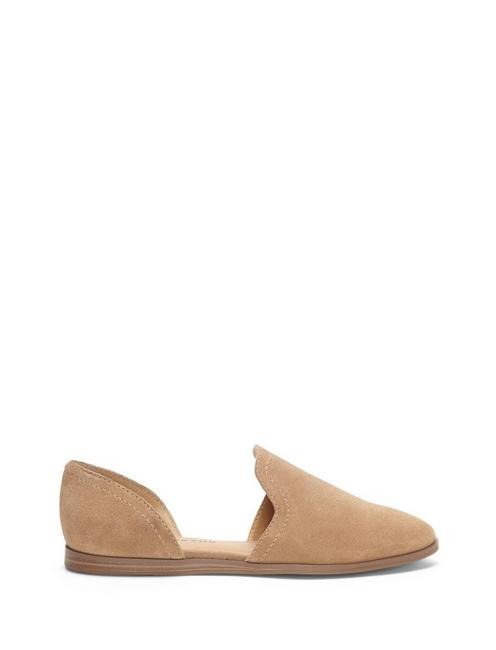 JINREE FLAT, LIGHT BROWN