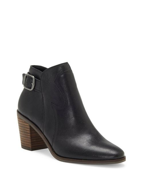 KAUTO LEATHER BOOTIE, BLACK