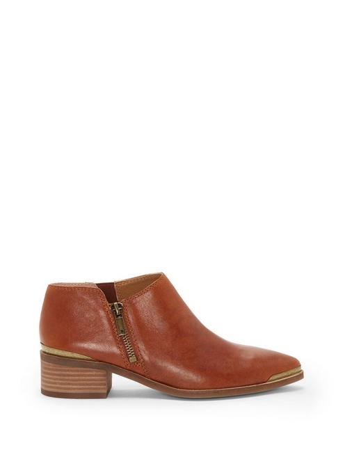 KOBEN BOOTIE, OPEN BROWN/RUST