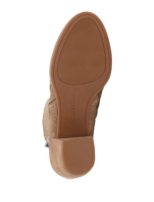 LASHIYA BOOTIE, LIGHT BROWN