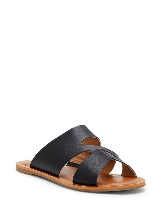 LEELAN SANDAL, BLACK, productTileDesktop