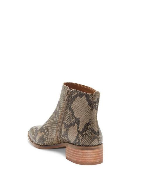 LENREE BOOTIE, LIGHT GREY