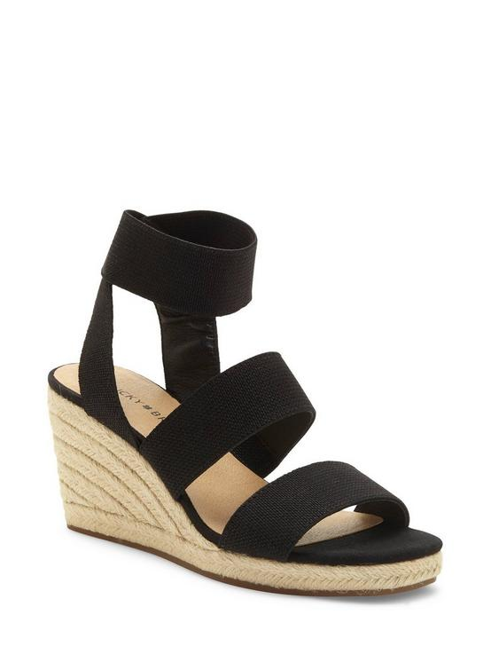 MINDARA WEDGE, BLACK, productTileDesktop