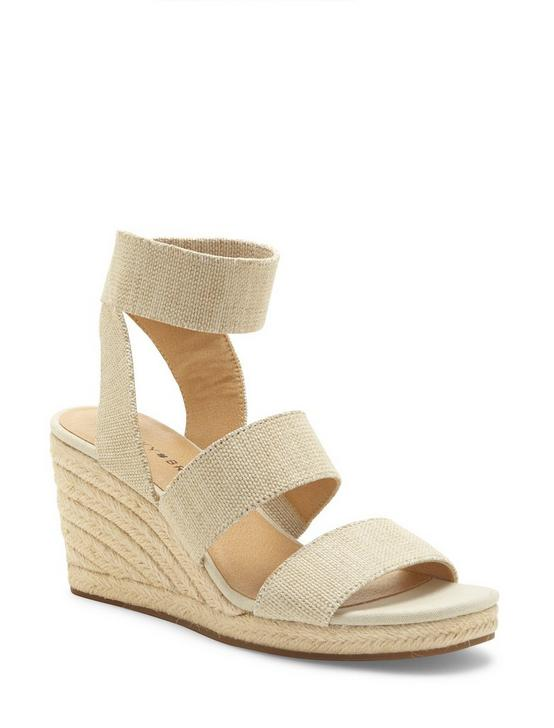 MINDARA WOVEN WEDGE, MEDIUM BEIGE, productTileDesktop