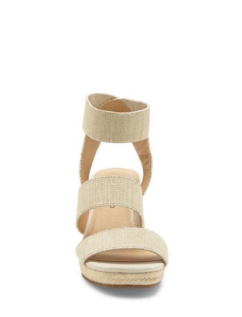 MINDARA WEDGE, MEDIUM BEIGE