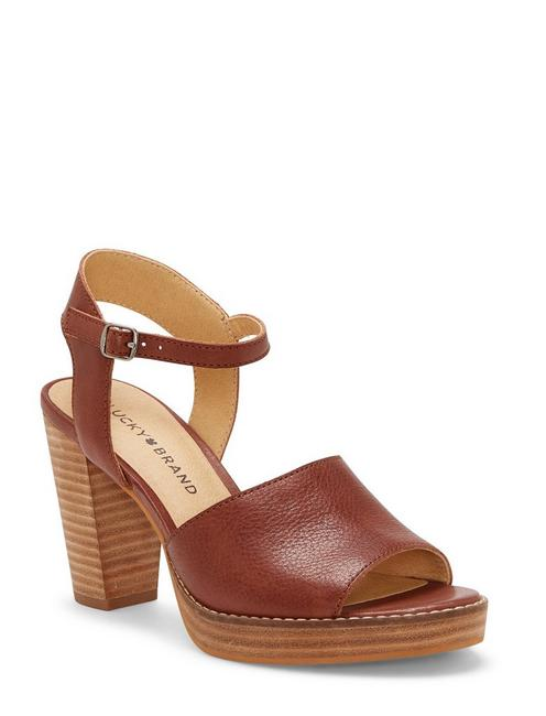 NANIKA HIGH HEEL, DARK BROWN