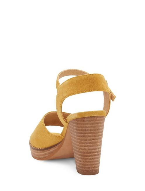 NANIKA HIGH HEEL, GOLDEN YELLOW