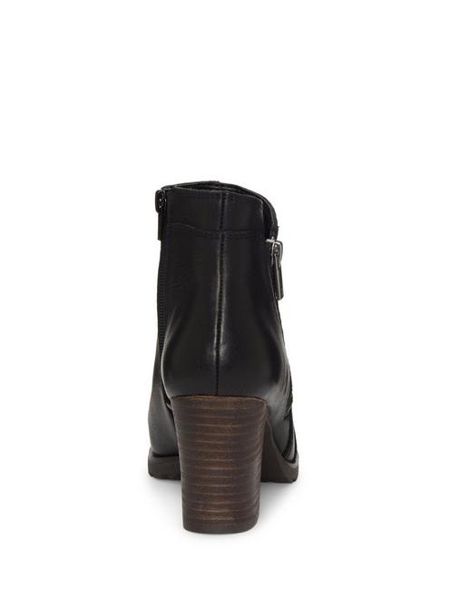 NILAFA LEATHER BOOTIE, BLACK