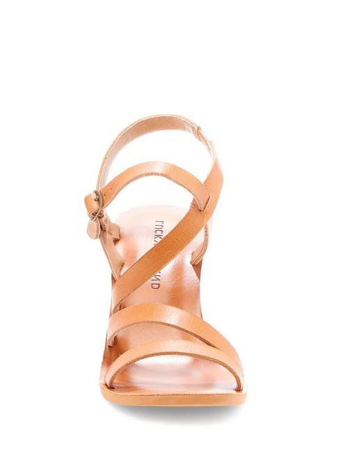 NOEMIA WEDGE, LIGHT BROWN