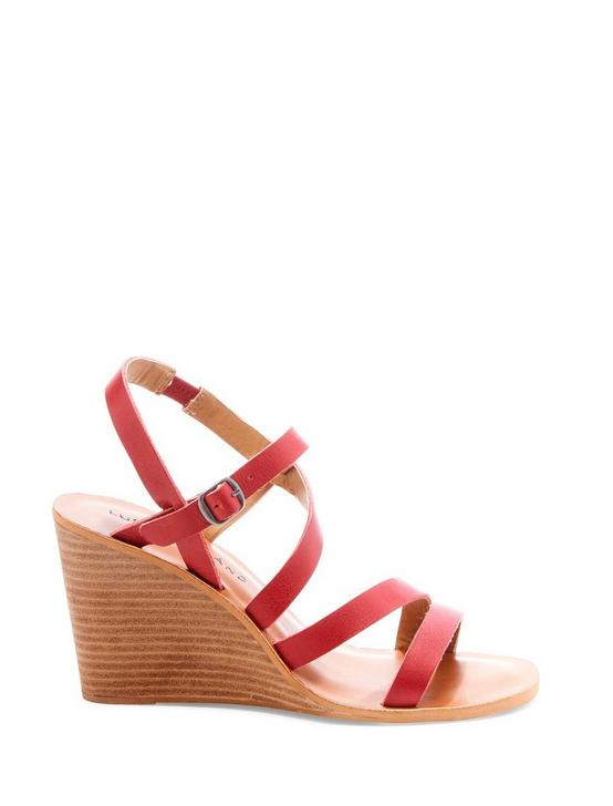 NOEMIA WEDGE, DARK RED, productTileDesktop