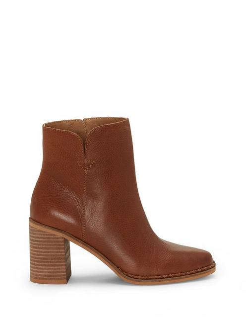 NOMI BOOTIE, MEDIUM DARK BROWN