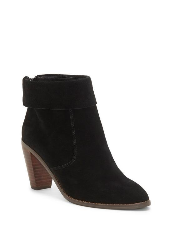 NYCOTT SUEDE BOOTIE, FEATHER, productTileDesktop
