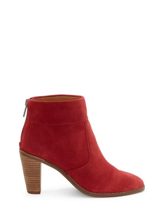 NYCOTT BOOTIE, DARK RED, productTileDesktop