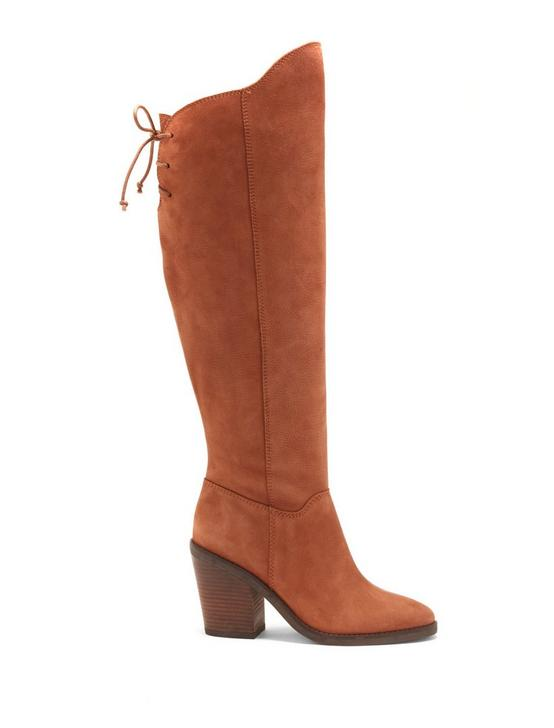 PEMBE TALL BOOT, RUST BROWN, productTileDesktop