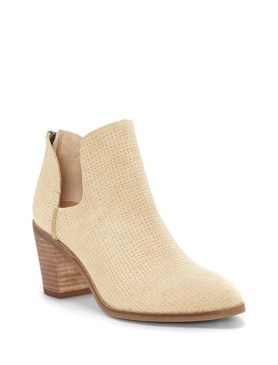 POWE LEATHER BOOTIE, MEDIUM BEIGE, productTileDesktop