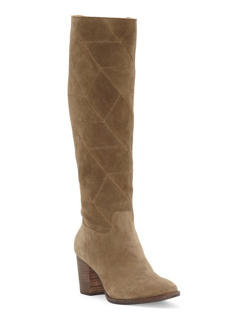 PROUSKA SUEDE BOOT, LIGHT GREEN