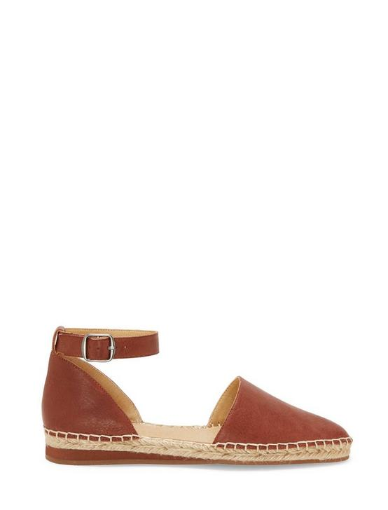 RENIYA ESPADRILLE FLAT, DARK BROWN, productTileDesktop