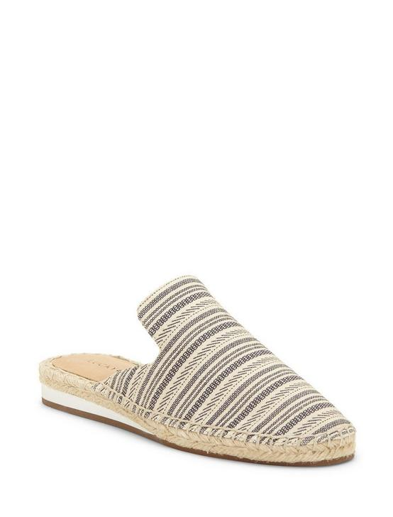 REVEA CANVAS ESPADRILLE FLAT SLIDES, OPEN WHITE/NATURAL, productTileDesktop