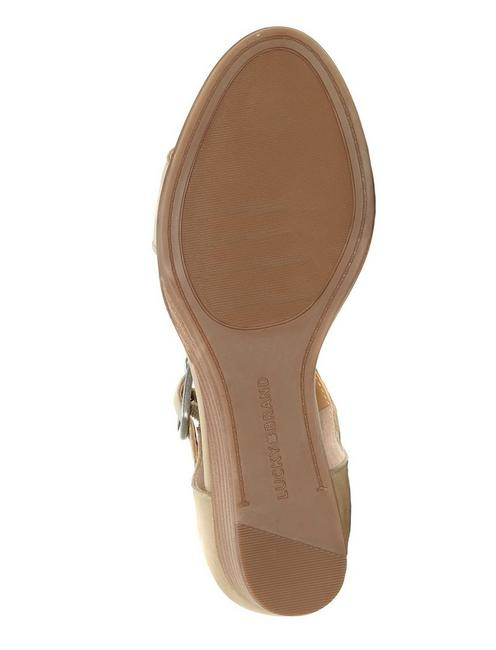 RIAMSEE WEDGE, MEDIUM BEIGE