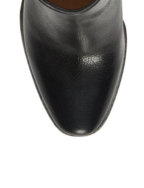 RYLAH LEATHER BOOTIE, BLACK