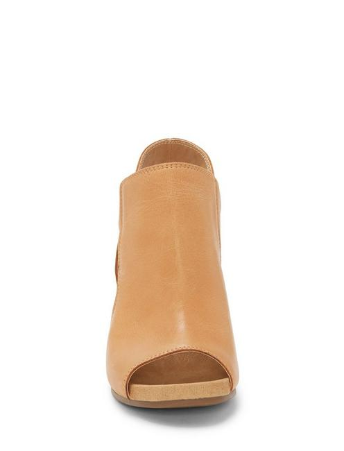 SAUNDRA HEEL, RUST BROWN