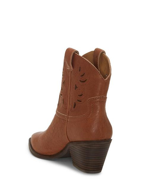 TALOUSE WESTERN BOOTIE, LIGHT BROWN