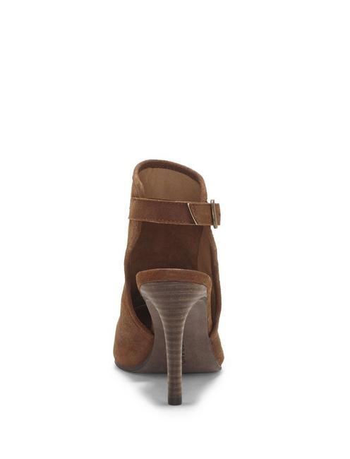THEZZA HEEL, OPEN BROWN/RUST