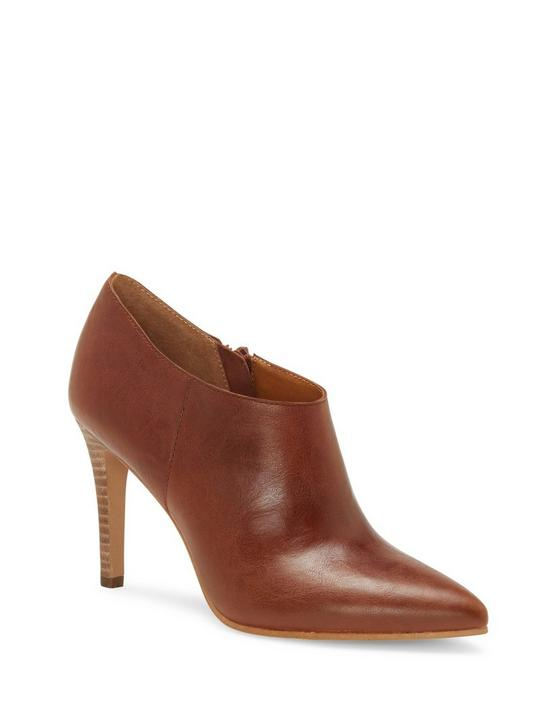 TIRAE LEATHER HEEL, DARK BROWN, productTileDesktop