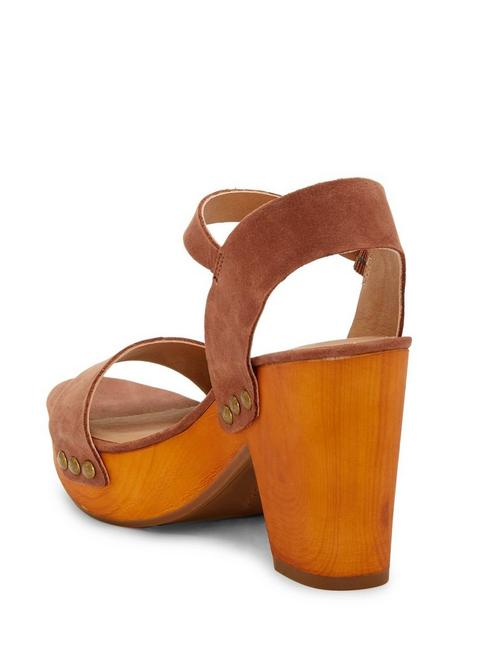 TRISA HEEL, LIGHT BROWN