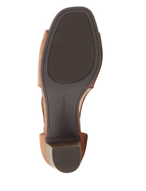 UDINE HEEL, LIGHT BROWN